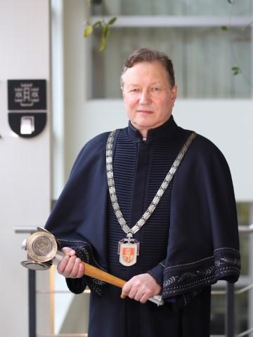 KU rektorius Artūras Razbadauskas