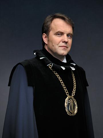 LMTA rektorius prof. Zbignevas Ibelgauptas