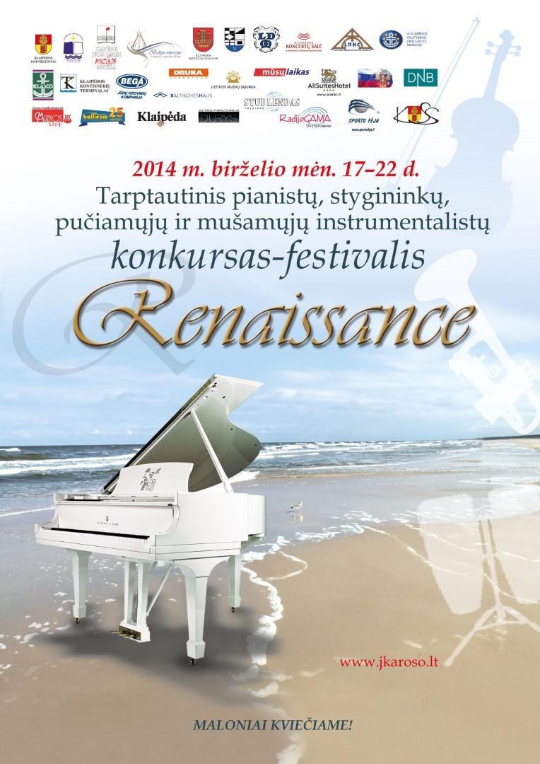 Tarptautinis konkursas-festivalis RENAISSANCE (2014) / International Competition-Festival RENAISSANCE (2014)